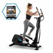 Capital Sports Helix Pro Vélo elliptique Bluetooth Appli volant d'inertie 20 kg