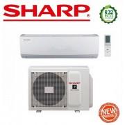 Sharp Climatizzatore Condizionatore Sharp Hi-Wall Inverter A++ Serie Usr 18000 Btu Ay-X18usr R-32 - New 2017