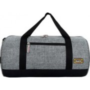 Nice Line Light Weight Gym Bag Carry on Luggage Handbag Gym Bag(Grey)