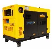 Generator insonorizat Stager YDE12TD3 3000rpm diesel trifazat