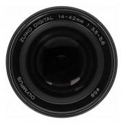 Olympus Zuiko Digital 14-42mm 1:3.5-5.6 Four-Thirds negro - Reacondicionado: como nuevo 30 meses de garantía Envío gratuito