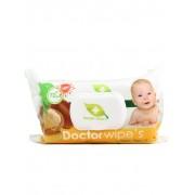 Dr. Wipe's Servetele umede baby cu capac 72 buc Argan Oil