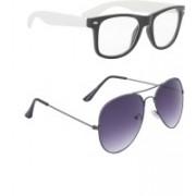 Amora Aviator Sunglasses(Multicolor)