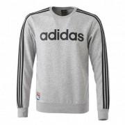 adidas Sweat homme adidas 3 bandes gris - XL OL - Foot Lyon
