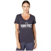 Champion College Penn State Nittany Lions University V-Neck Tee Navy 4