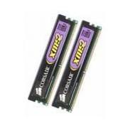 Corsair XMS2 - mémoire - 2 Go (2 x 1 Go) - DIMM 240 broches - DDR II - 800 MHz / PC2-6400 - CL4 - CM2X1024-6400C4