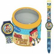 Orologio disney 561149 bambino jake the pirate - tin box