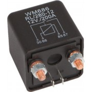 AUDIO SYSTEM CUT OFF Relay with 200A Switch Power