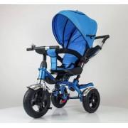 Tricikl Playtime sa rotirajucim sedištem (Model 408 LUX plava)