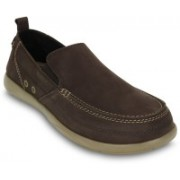 Crocs Harborline Nubuck M Loafers For Men(Brown)