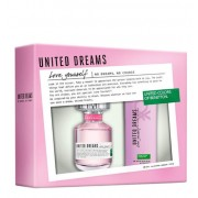 Benetton United Dreams Love Yourself Set EDT 80 мл. + део спрей 150 мл.