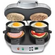 Hamilton Beach Dual Breakfast Sandwich Maker | Model# 25490 Grill(Silver)