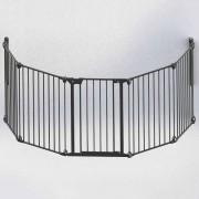 Noma 5-Panel Safety Gate Modular Metal Black 94238