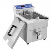 Fritadeira por indução - 1 x 10 litros - de 60 a 190°C