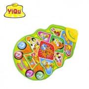 YIQU Kid Touch Play Musical Mat Tree Musical Carpet Toy piano music carpet mat