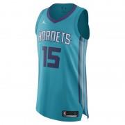 Maillot connecté Jordan NBA Kemba Walker Icon Edition Authentic (Charlotte Hornets) pour Homme - Bleu