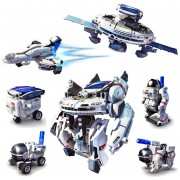 7 En 1 Diy Solar Flota Espacial Kits Robot