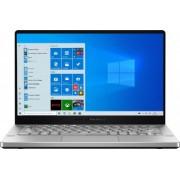 Laptop Gaming ASUS ROG Zephyrus G14 GA401IV AMD Ryzen 7 4800HS 1TB SSD 16GB NVIDIA GeForce RTX 2060 6GB FullHD 120Hz Win10 Tast. ilum. White