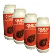 noxima Cimex Poudre Insecticide punaise de lit en lot de 3 + 1 OFFERT