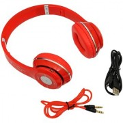 A Five S460 Bluetooth Headphones red