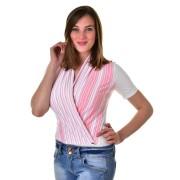 Mayo Chix női rövid ujjú body AMPARO m2019-1Amparo0508/feher-rozsaszin