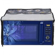 Glassiano Printed Microwave Oven Cover for IFB 25 Litre Convection Model 25SC4 Metallic Silver