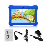 EY Q88 Niños Tablet De 7 Pulgadas, 512 MB De +8GB US Plug Kids Pad El Aprendizaje De Los Alumnos-Azul Oscuro