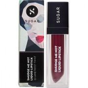 SUGAR Smudge Me Not Liquid Lipstick - 33 Amethyst Twist (Metallic Plum)