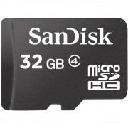 Kartica microSDHC SanDisk, 32GB, klasa 4 SDSDQM-032G-B35