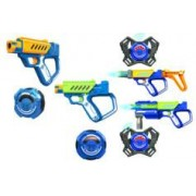 Silverlit Sets 4 joueurs de laser game Battle OPS Lazer M.A.D : Base + Advance