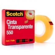 Cinta adhesiva 3M transparente 550 24X65 5502465