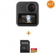 Kit GoPro MAX 360 + Sandisk Extreme MicroSDXC 64gb C10