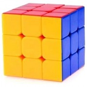 Toy Vala Stickerless Cube Magic Cube Speed Cube (3# Multicolor)