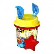 Superman közepes homokozó készlet, 5 részes