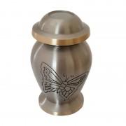 Urn met vlinder goud- en zilverkleurig (50ml)