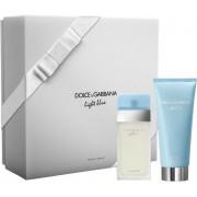 Dolce & Gabbana Light Blue Pour Femme Woda toaletowa 25ml spray + Balsam do ciała 50ml