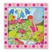 Set De Creatie Mozaic Pe Numere Gradina Cu Flori Melissa And Doug
