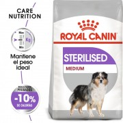 10kg Medium Adult Sterilised Royal Canin pienso para perros