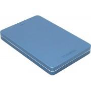 """Toshiba ext. drive 2.5"""" USB 3.0 Canvio ALU 3S Blue Външен HDD 1TB"""
