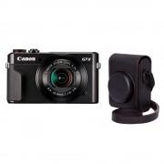 Canon PowerShot G7 X Mark II Aparat Foto Compact 21.1MP Kit cu Toc DCC-1880