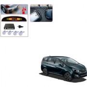 Auto Addict Car Silver Reverse Parking Sensor With LED Display For Mahindra Marazzo