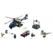 Lego Persecución en helicóptero de Blue