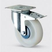 TENTE Přístrojové kolo se sníženou hlučností, polyamidové 125 mm, otočné s