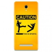 Husa silicon pentru Allview E4 Lite This Is Sparta Funny Illustration