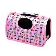 Draagbare huisdier handtas-schoudertas voor kat / hond en andere huisdieren Medium Size: 40 * 21 * 27cm