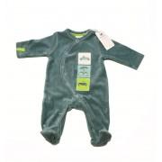 Noukies Pyjama velours Julien vert Noukie's-9 mois