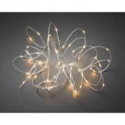Konstsmide Micro LED lichtdraad wit met 100 extra warm witte lampen
