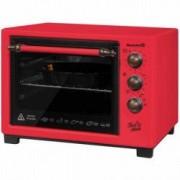 Cuptor Hausberg HB 9055 R 1420W 25 L rezistente din inox Rosu