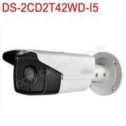In stock International English version DS-2CD2T42WD-I5 4MP EXIR Network Bullet IP security Camera POE, 50m IR, 120dB WDR,H.264+