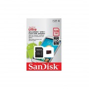 Sandisk Micro SDXC Ultra MicroSD TF Flash Memory Card 128GB 128G Class 10 For GoPro Hero 3 Black, Silver, & White Edition Cam Camera Go Pro W/ Everything But Stromboli Memory Card Reader...